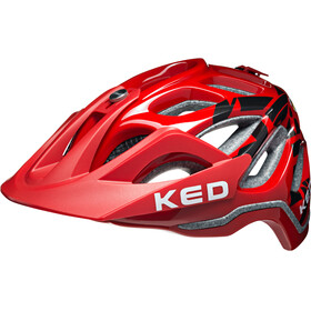 KED Trailon Helmet Kreidler Werksteam Red